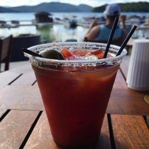 Tiki Bar, Lodge at Whitefish Lake, Whitefish MT | uprootfromoregon.com