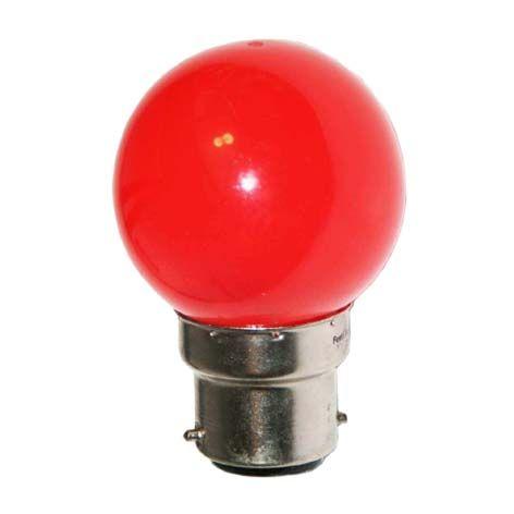 Ampoule LED SMD 4 couleur 0,62W 30lm - ROUGE - B22