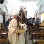El Obispo dio inicio a las fiestas patronales de San Juan Bautista y confirmó a 16 niños en comunidades de Belén