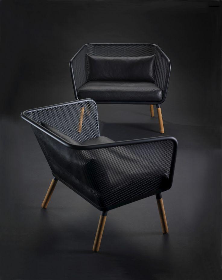 HONKEN Small sofa by Blå Station design Stefan Borselius, Thomas Bernstrand, Johan Lindau
