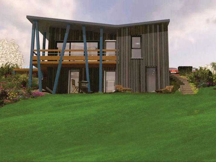 17 best Déco  maisons en bois images on Pinterest Wooden houses - qu est ce qu une maison bioclimatique
