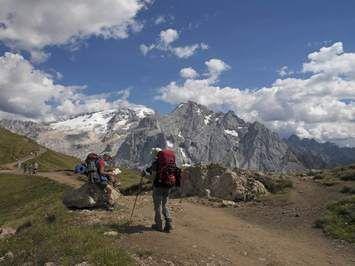 Canazei nel Trento, Trentino - Alto Adige