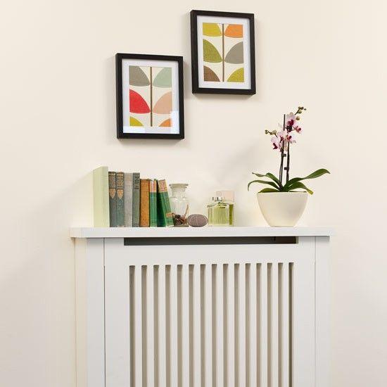 over radiator shelf | Neutral radiator cover with shelf | Shelving ideas | PHOTO GALLERY ...