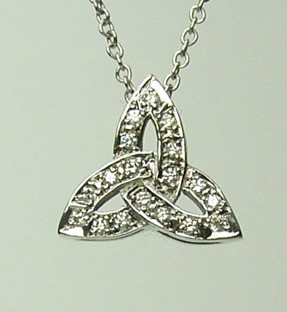 Chibnalls custom diamond pendant