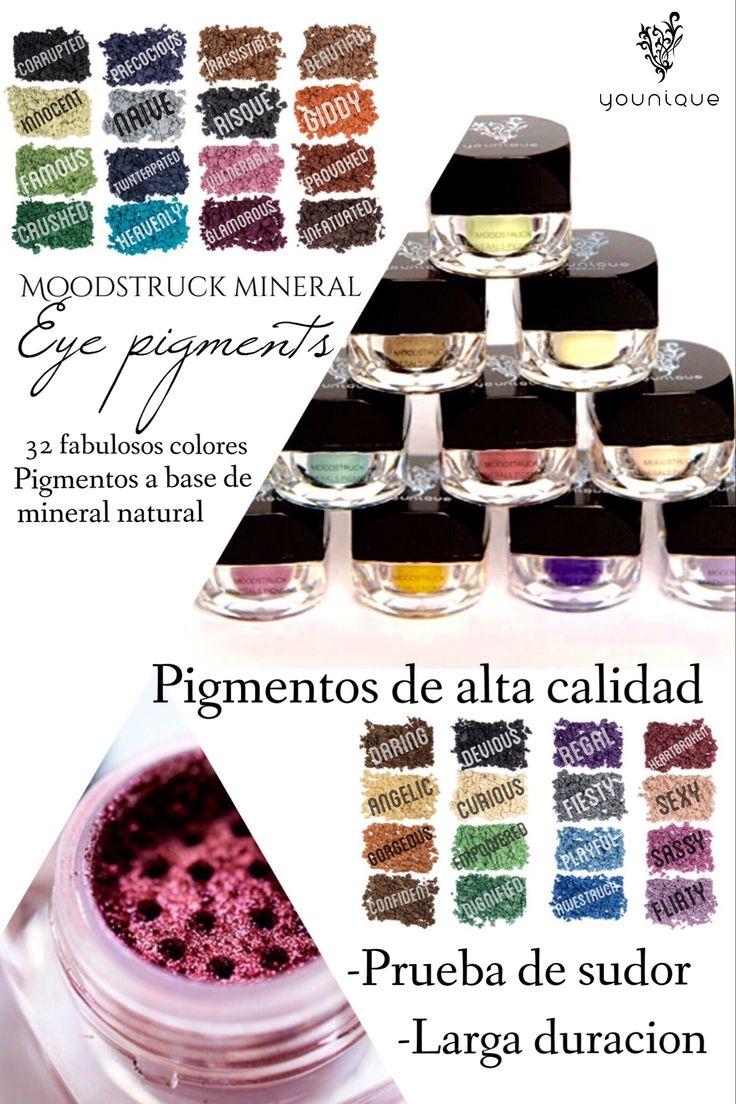 Pigmentos de base mineral de alta calidad