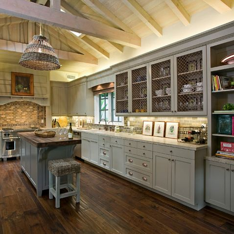 Sherwin Williams Intellectual Gray Cabinets Design Ideas, Pictures, Remodel, and Decor
