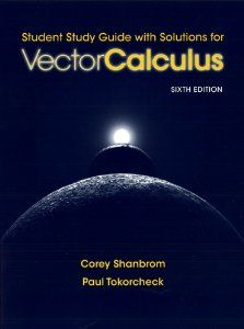 This guide is meant to help you, the code, navigate the 6th version of Vector Calculus by Jerrold E. Marsden and Anthony Tromba. The chapters and sections of this study information correspond precisely to those of the textbook, and every exercise solved right here appears in blue kind there.