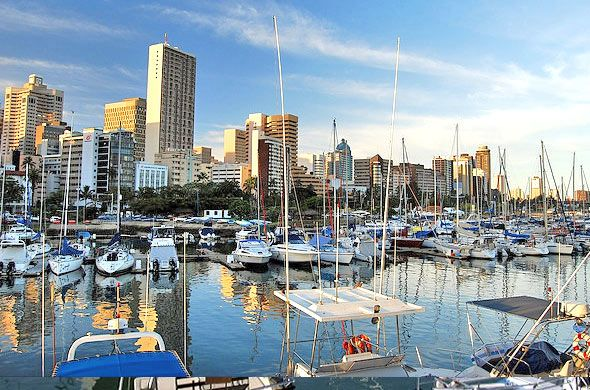 Durban boasts an array of exciting adventure activites and there's a plenty to do in South Africa's most vivacious city. The tourists are often amazed at the economical rates most things are available here. A trip to Durban can be filled with extra ordinary fun and excitement at an affordable cost with Cheap Flights Deals.