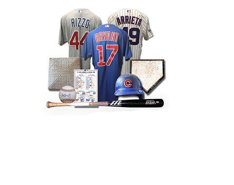 Cubs game used, Cubs memorabilia, Wrigley Field memorabilia