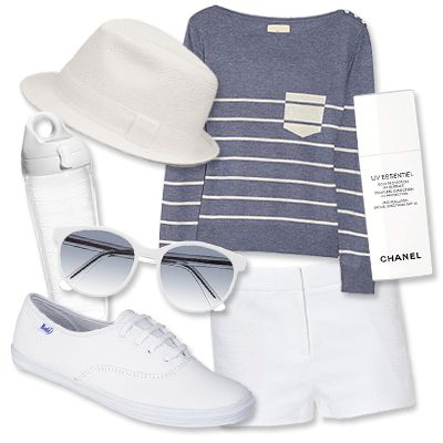 What to Wear to the US Open: Three Tennis-Inspired Looks You'll Love - Put a Twist on Tennis Whites from InStyle.com