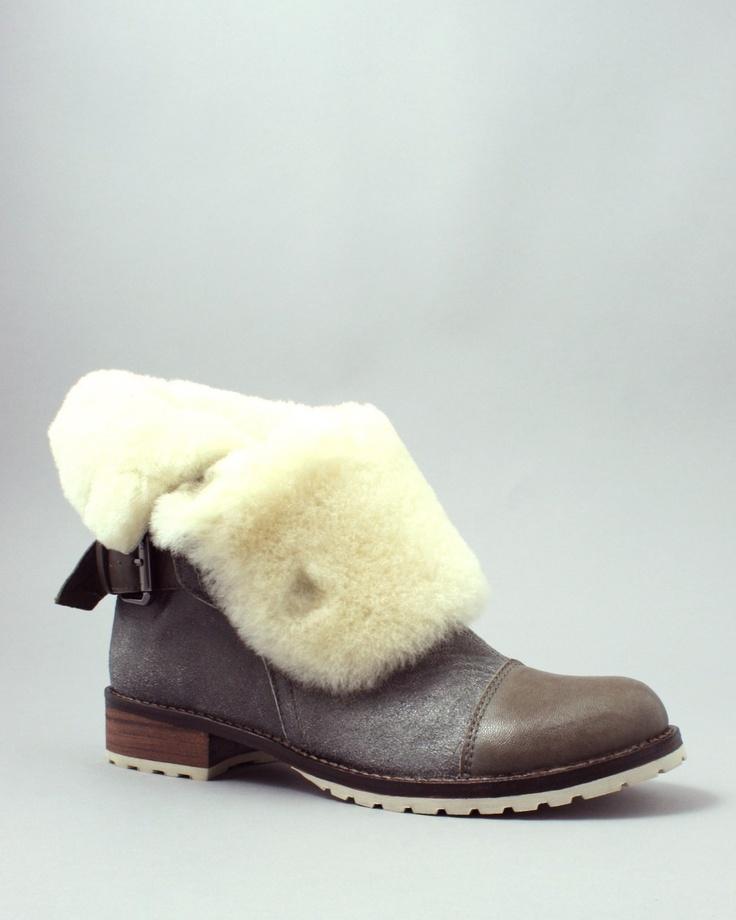 Sloan - Matt Bernson Tundra Grey Shearling/Cream Boot , $286.00 (http://sloanboutique.com/matt-bernson-tundra-grey-shearling-cream-boot/)