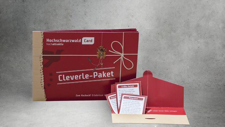 Für den Hochschwarzwald mit seiner innovativem Gästekarte haben wir eine tolle Verpackung hergestellt. Mit dem Offsetdruck ist vieles möglich: neben Druck auch lackieren, nummerieren, perforieren, nuteten, stanzen und prägen.