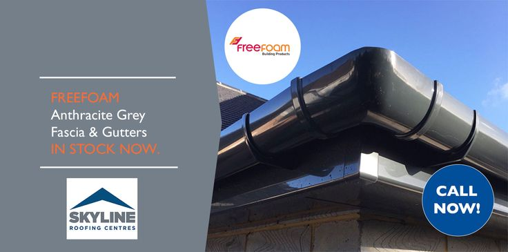 Are you looking for a stunning rainwater system to match your roof and facade?  Choose the beautiful Anthracite Grey gutters and fascia boards from Freefoam. We are currently stocking the deep flow Anthracite Grey gutters and fascia boards at our Uxbridge (UB10 0PH) and Brockley (SE4 2DS)  branches, so pay us a visit!