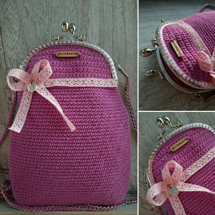 Croshet litle handbag
