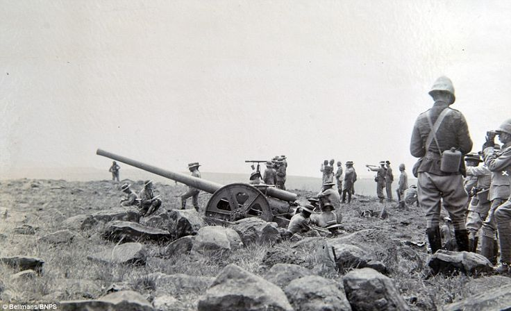 Although traditional artillery was used by both sides during the war it was one of the first conflicts to feature guerrilla warfare