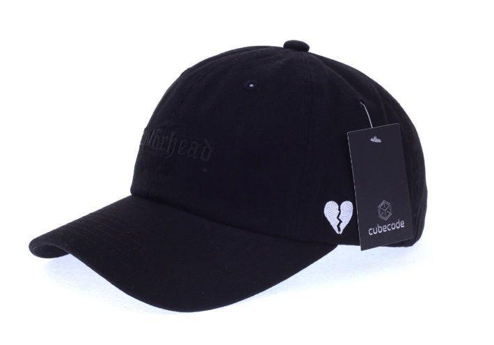 Moter Head Black Ball Cap - Baseball Cap / Casual Cap / Couple Cap / Student Cap #Unbranded #Simple