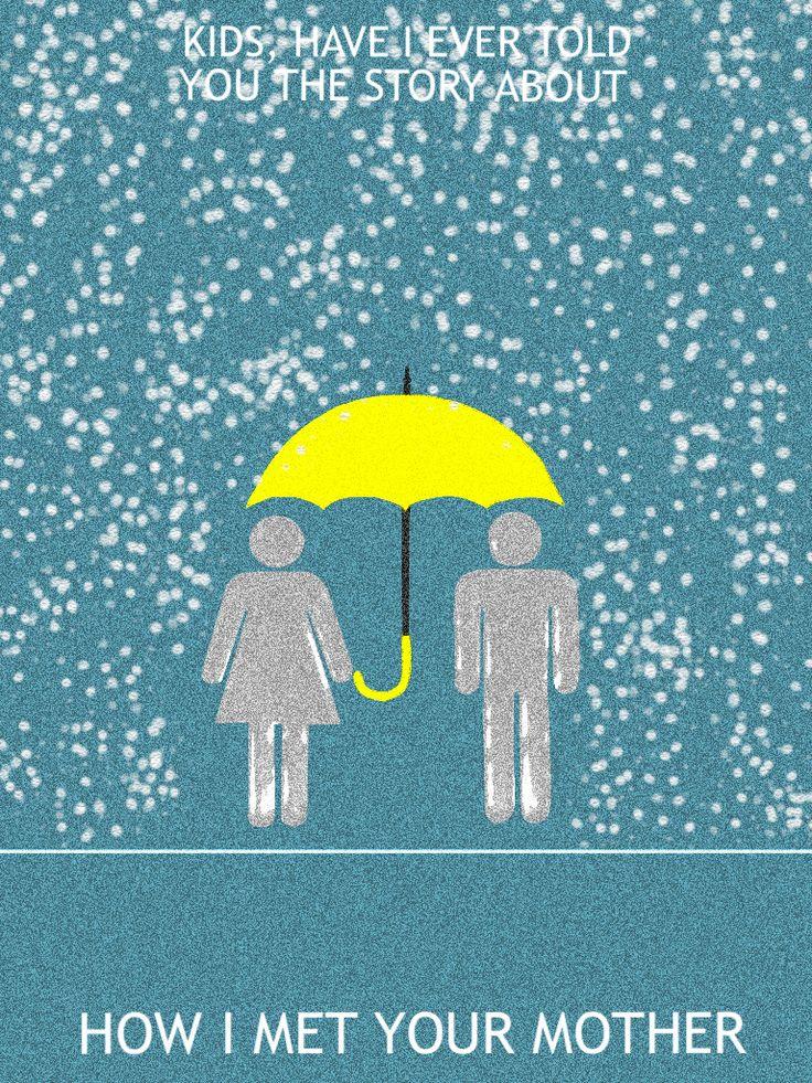 Yellow Umbrella How I Met Your Mother Poster 40 best Tv Show...