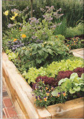 Inspired Living Spaces: Herb Vegetable Gardening