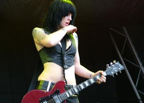 If I were reincarnated, I think I'd like to be Brody Dalle.