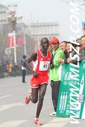 Amos Maiyo on his way to 5th at ZK in China – A tough race