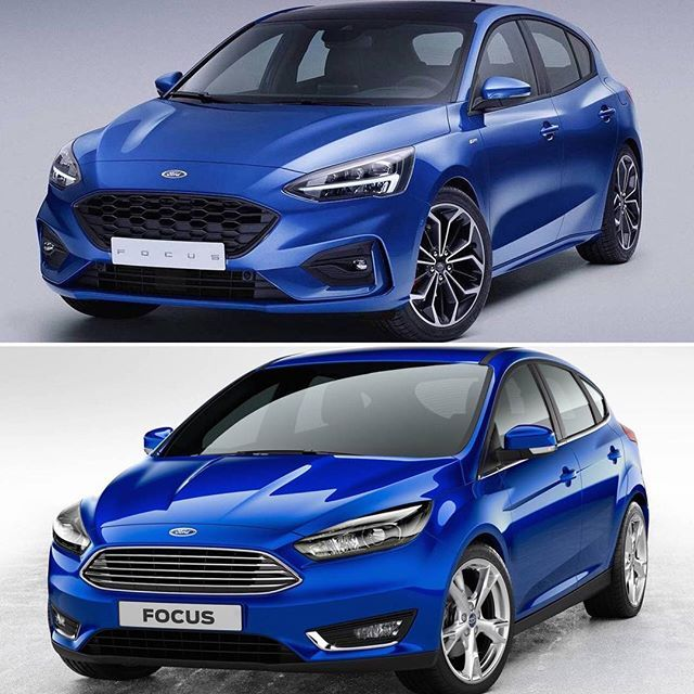 The New Ford Focus Is Finally Here And Its Been Completely Revamped And Remodeled For The 2019 Model Year Can You Spot The Chan New Ford Focus Ford Ford Focus