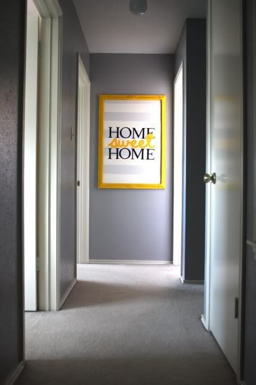 wall art for end of hallway - love it!