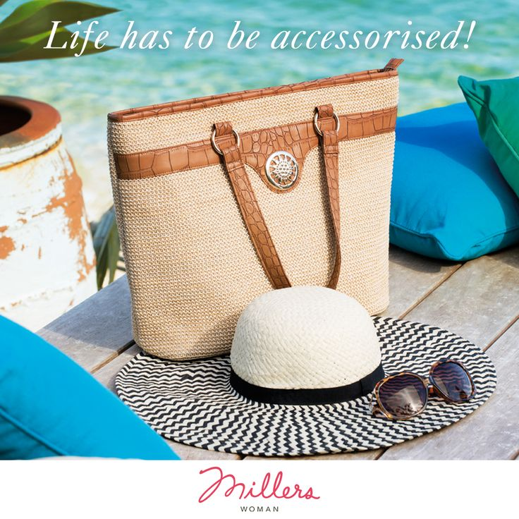 Love to dress an outfit up with an array of accessories!