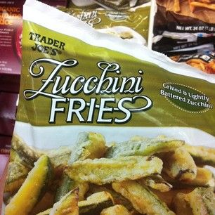 A newer TJ product, these frozen zucchini fries are made with an egg-less batter. | 23 Vegan Trader Joe's Products You Must Try