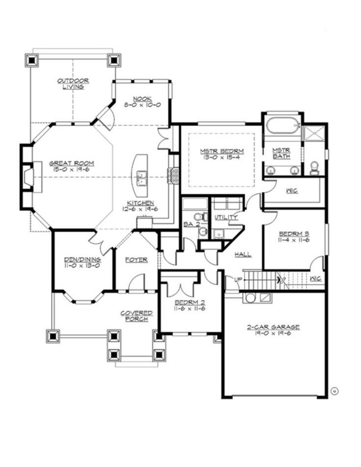 151 best house plans images on pinterest | house floor plans