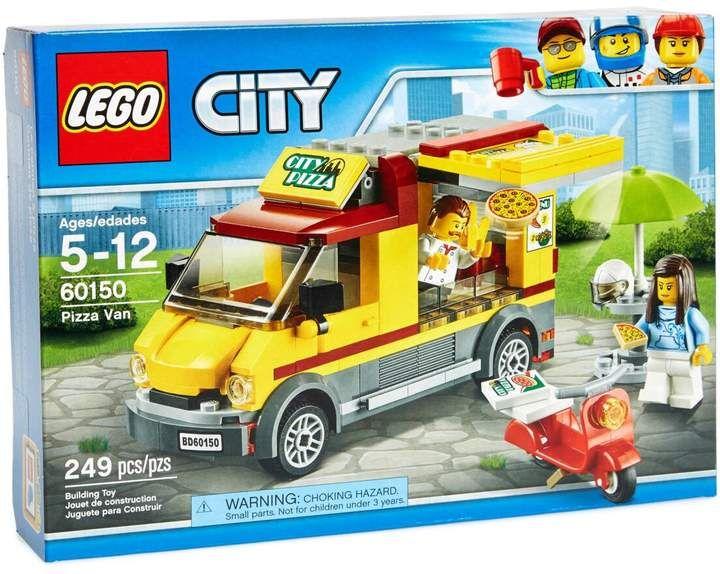Lego Legor City Pizza Van 60150 In 2019 Pizza Vans