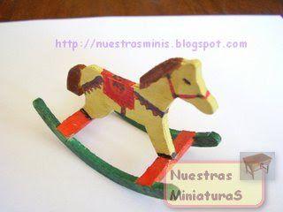 Nuestras MiniaturaS: CABALLITO BALANCIN