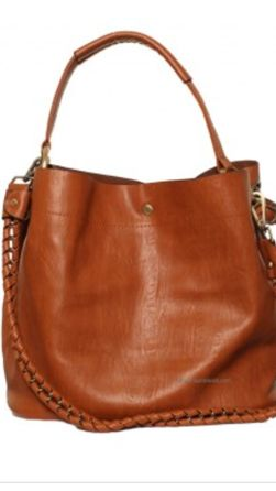 Monogrammed Hobo Purse with companion pouch