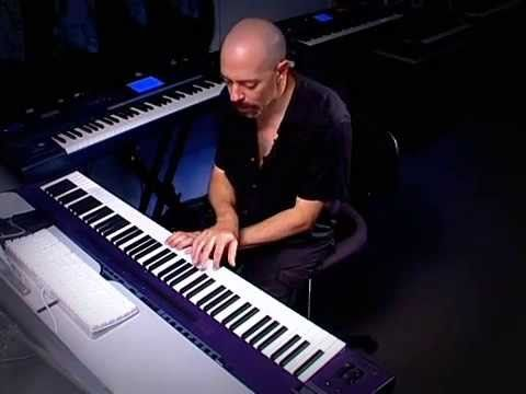 Jordan Rudess Keyboard Madness 2 Performance Programming.   Here we see some of the amazing things that can be done all at once with one keyboard.