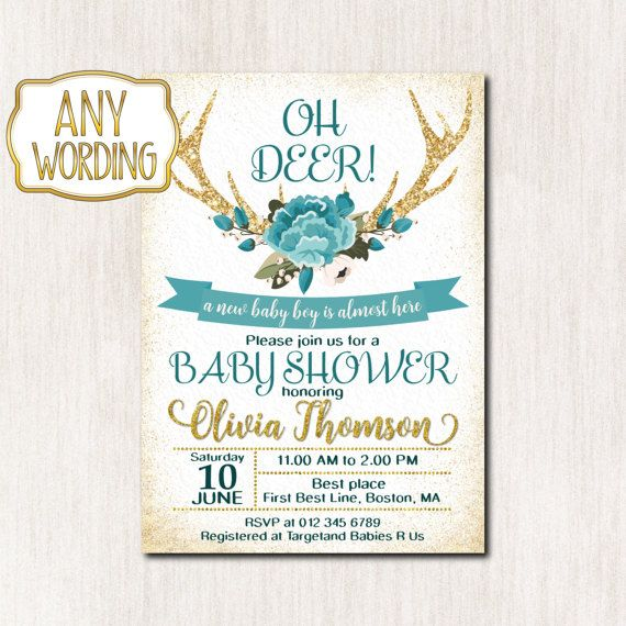 119 best Baby Shower Invitations images on Pinterest