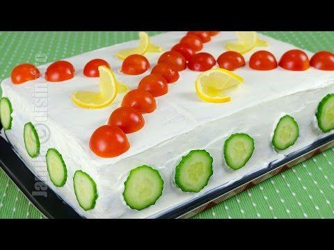Tort aperitiv pas cu pas | JamilaCuisine - YouTube