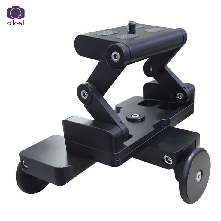 59.13$  Buy now - http://ali1kz.shopchina.info/go.php?t=32747307472 - Foldable Tricycle Rail Cars 1/4'' Screw Mount Plate for DSLR Camera Gopro DSLR Camera Mini Car Skater for Photograph Rail   #aliexpresschina