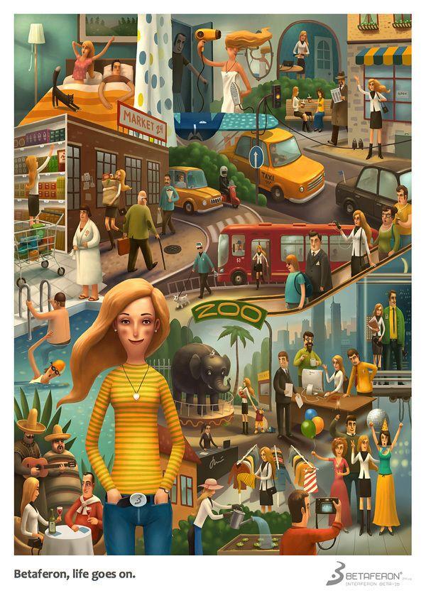 Illustration Mix 2012 by Andrey Gordeev