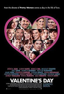 Valentine's Day ... directed by Gary Marshall with multi-star lineup. Great chick flick!