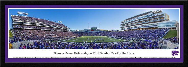 Kansas State Wildcats Panoramic - Bill Snyder Family Stadium Picture
