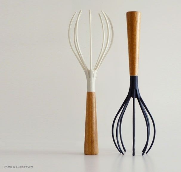 Finally, a whisk that doesn't steal half your cake batter....it kind of looks like one of those weird head massagers