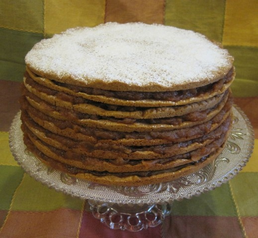 How To Ice And Stack A Cake