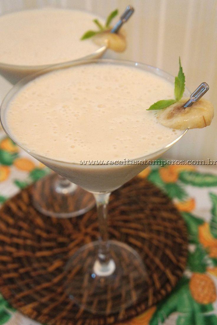 Smoothie de Banana | Receitas e Temperos