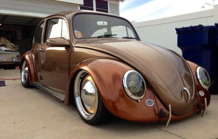Volkswagen Escarabajo (Vochos): VW Beetle 1962 Copper Color