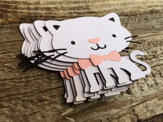 Hey, I found this really awesome Etsy listing at https://www.etsy.com/listing/241734384/12-kitten-die-cuts-cat-party-birthday