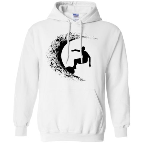 Catch the Wave - Hoodie.  Good vibes happen in the tides. And if the water is cold here is the perfect hoodie to keep you warm after your surf sesssion!