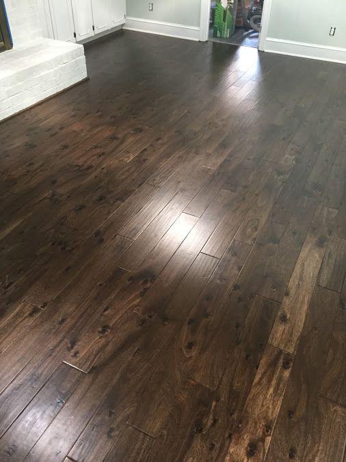 Palmetto road knotty acacia 5 engineered hardwood for Knotty laminate flooring