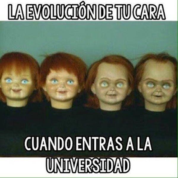 La evolución de tu cara. #humor #risa #graciosas #chistosas #divertidas