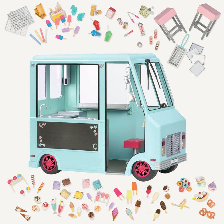 Our Generation Sweet Stop Ice Cream Truck from Our Generation World