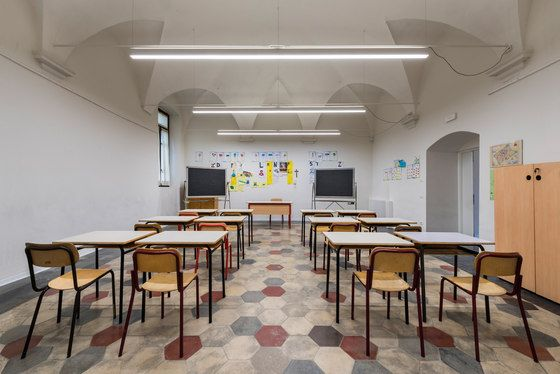 De Amicis Primary School by Linea Light Group reference projects | Manufacturer references