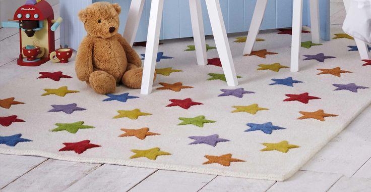 Rainbow Star Rug